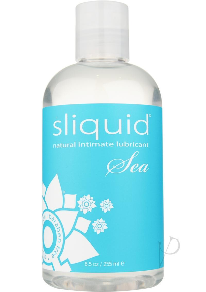 Sliquid Sea With Carrageenan Natural Intimate Lubricant 8.5 Ounce
